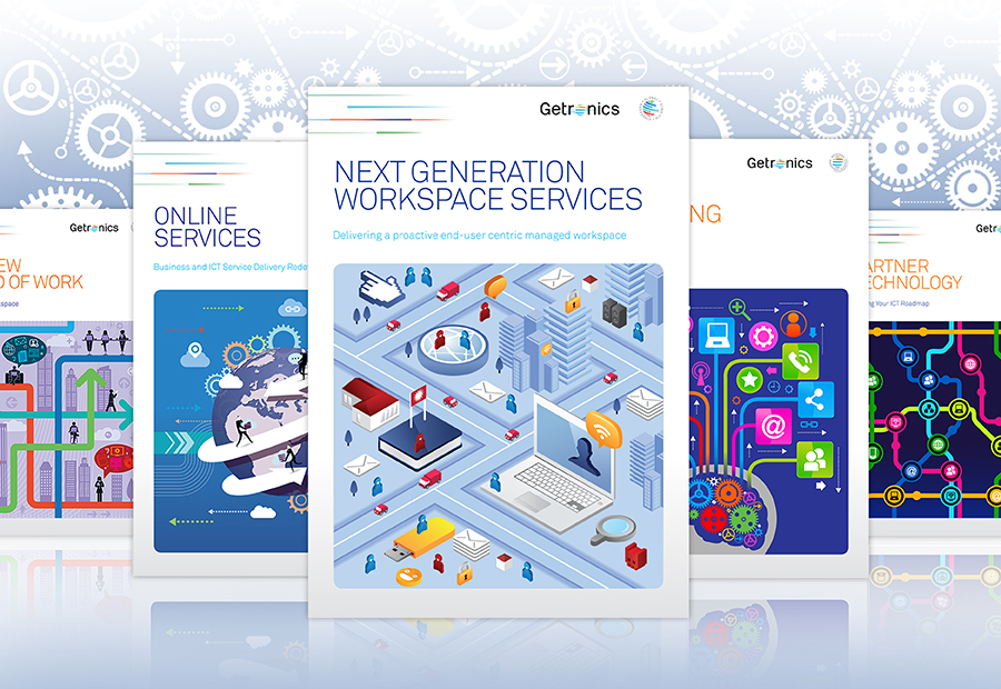Getronics brochures and case studies
